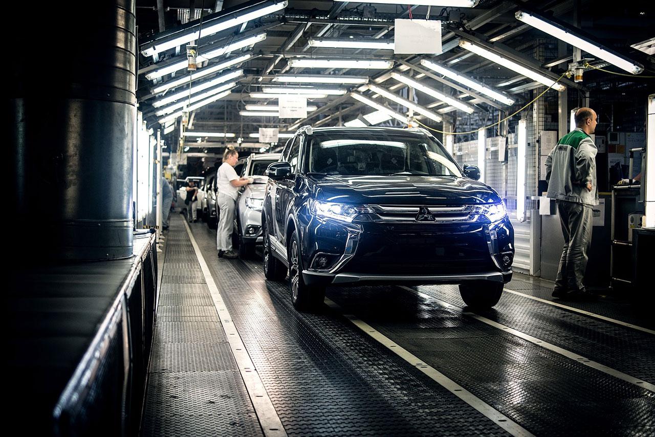 Mitsubishi Motors объявляет о выпуске 100 000 автомобиля в России