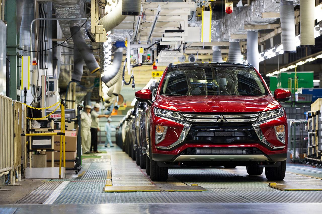 Mitsubishi Motors раскрывает технические характеристики Eclipse Cross для европейских рынков